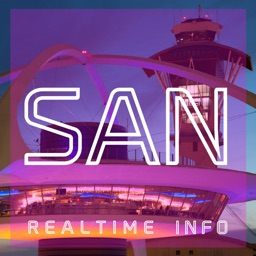 SAN AIRPORT - Realtime, Map, More - SAN DIEGO INTERNATIONAL AIRPORT
