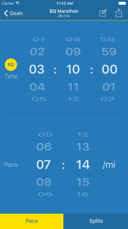 Pace! - Running Pace Calculator