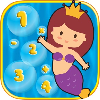 Bubble Kids Math Fun Game for Guppies Edition