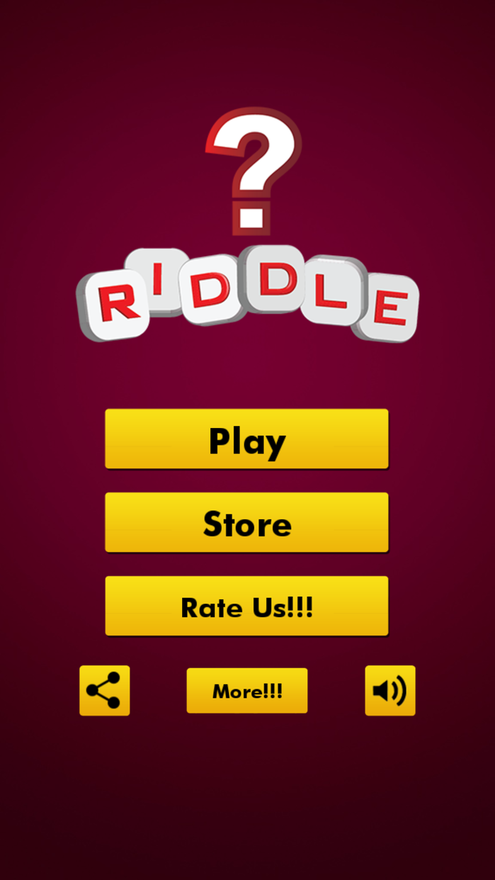 Riddles Brain Teasers Quiz Games ~ General Knowledge trainer with tricky questions & IQ test Screenshot