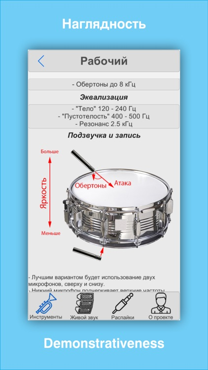 Sound engineering (Звукорежиссура) - Памятка звукорежиссера. Sound Engineer's notes. screenshot-2