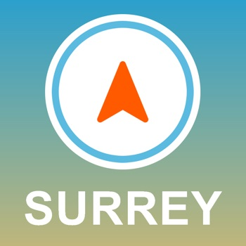 Surrey, UK GPS - Offline Car Navigation