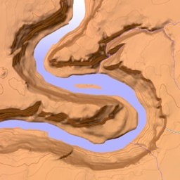 Scenic Map Western USA