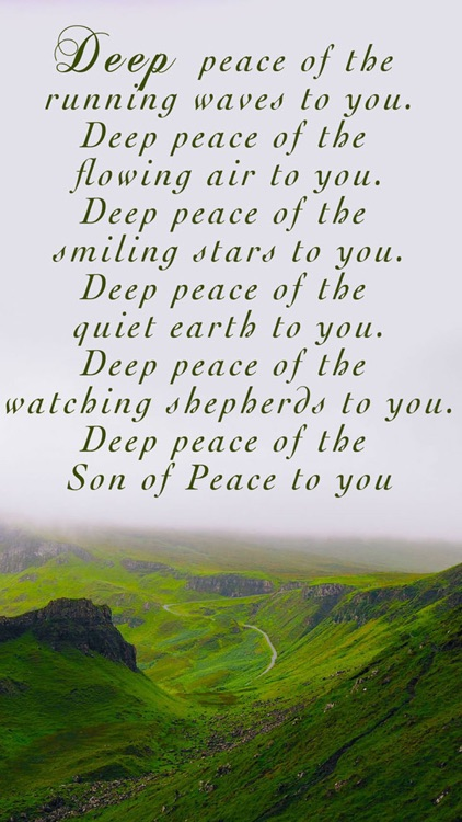 Irish Blessings and Greetings - Image Sayings, Wallpapers & Picture Quotes screenshot-3