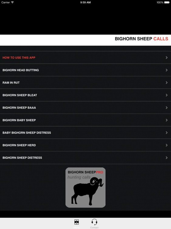 REAL Bighorn Sheep Hunting Calls - 8 Bighorn Sheep CALLS & Bighorn Sheep Sounds! -- BLUETOOTH COMPATIBLE