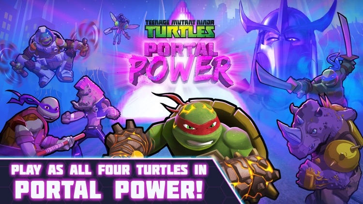 Teenage Mutant Ninja Turtles: Portal Power screenshot-0