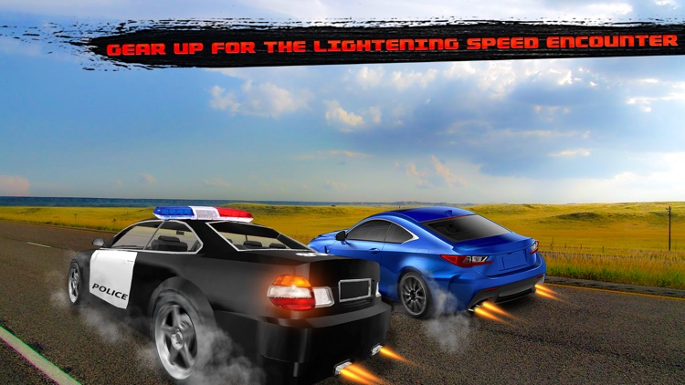 Crazy Police Pursuit Highway Race - Cops Vehicles Driving Simulator and Criminals Escape Silent Mission screenshot-3