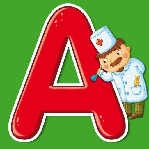 Сказочная азбука для малышей. Учимся читать и писать
