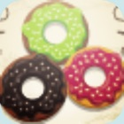 hot donut match icon