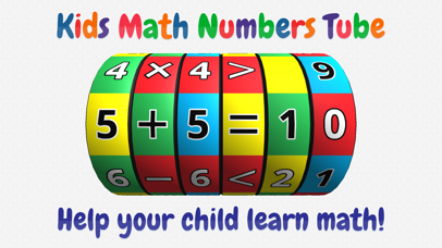 Kids Math Numbers Tube