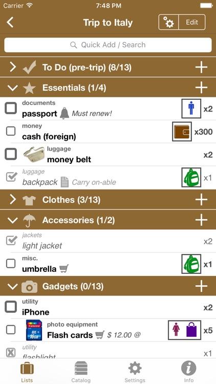 Packing Pro screenshot-0