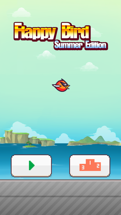 Flappy Summer Edition - Remake of Impossible Bird Game