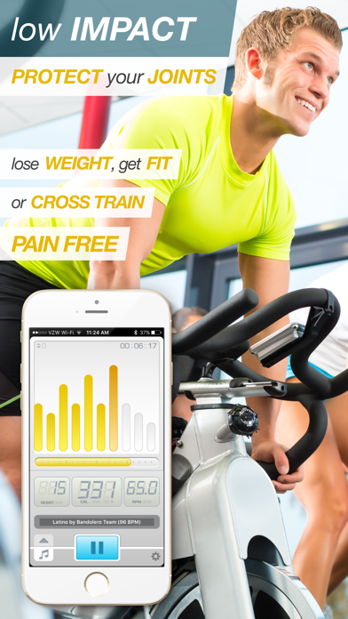 BeatBurn Indoor Cycling Trainer - Low Impact Cross Training for Runners and Weight Lossのおすすめ画像2