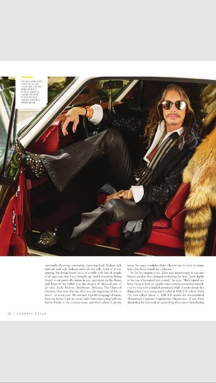 Cambria Style Magazine screenshot-4
