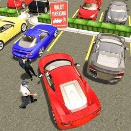 Hotel Valet Car Parking Sim - Try hotel valet car parking sim and experience parker duties! Park your car in new style without paying to valet