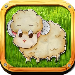 Fuzzy Farm : Animal Matching Game, A Free Games for Kids
