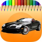 The Car Coloring Book : Educational Learning Games For Kids & Toddler icon