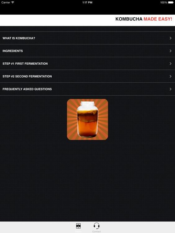 KOMBUCHA Made Easy! How to Make Kombucha Tea - (Ad Free) Your First Home Brew With Probiotics! screenshot-3