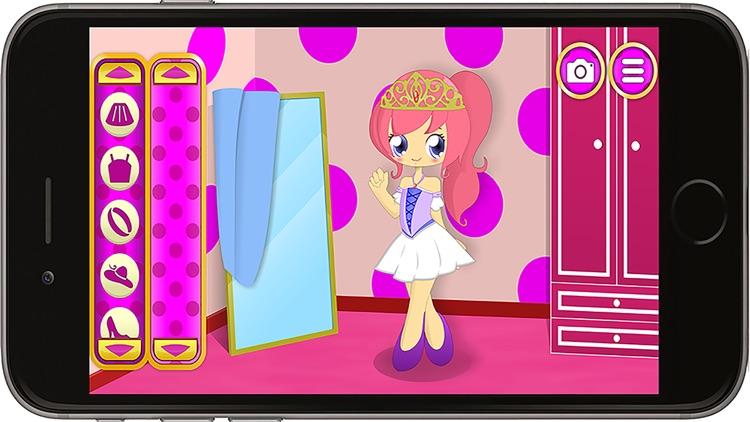 Princess Dress Up And Pet Care screenshot-3