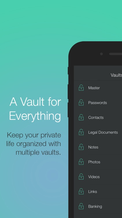 Vault - Secure Storage for Photo, Image and Video