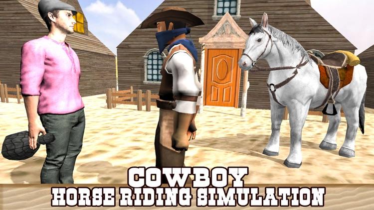 Extreme Cowboy Horse Riding Simulator - Ultimate Bounty Hunt