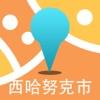 西哈努克市中文离线地图-柬埔寨离线旅游地图支持步行自行车模式