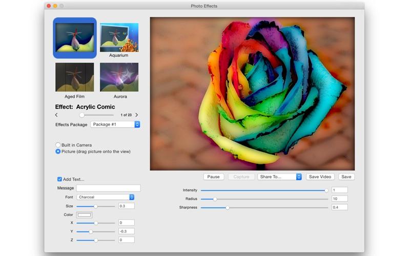 PhotoEffects Screenshot