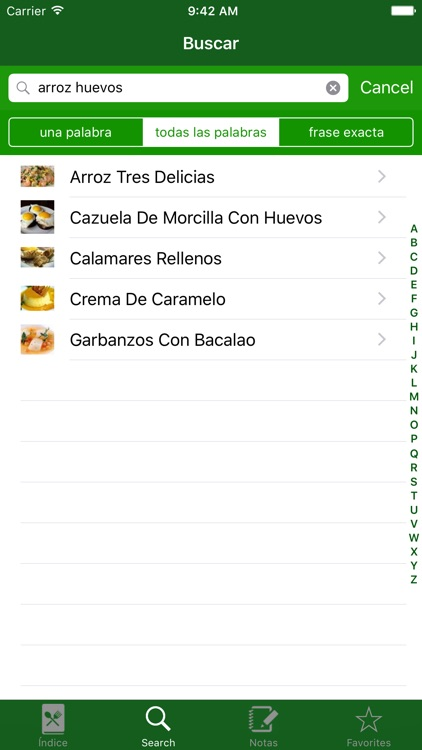 RoboGourmet: Recetas Thermomix screenshot-2