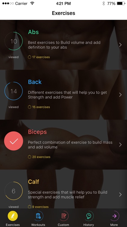 Fitness and Bodybuilding by VGFIT screenshot-4