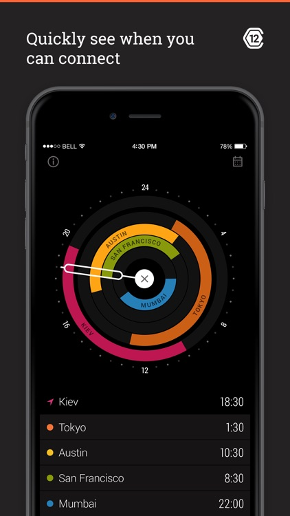 Circa - World Time and Meeting Planner for Travelers! screenshot-3
