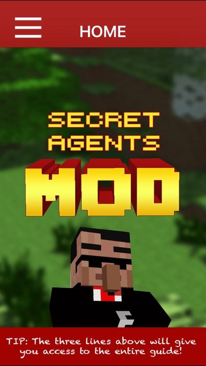 SECRET AGENTS MOD - Secret Agents Mod For Minecraft PC Pocket Guide Edition