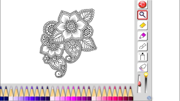 Adult Coloring book - Mandala, Flowers, Animals and Beautiful Patterns screenshot-1