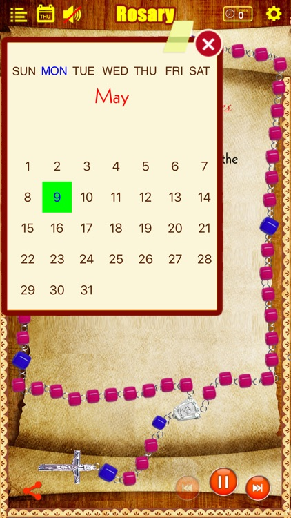 Rosary Deluxe for iPhone/iPad (The Holy Rosary) screenshot-3