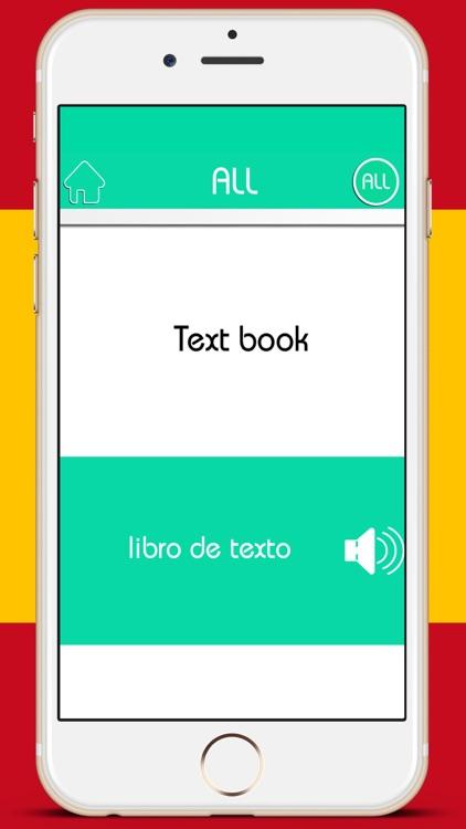 Learn Spanish Vocabulary - Premium screenshot-4