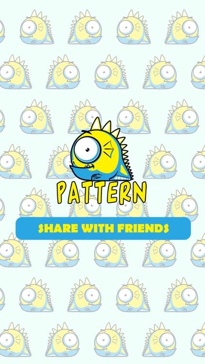 Pattern Wallpaper.s & Background.s Creator - Design Cute.st Photo.s for Home Screen screenshot-4