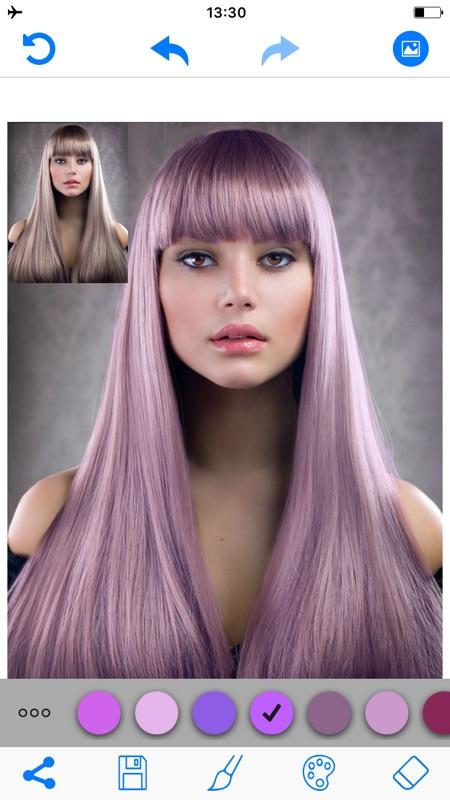 Elegant Change Hair Color Simulator