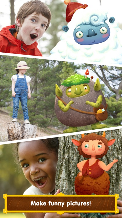 Wonderland - learn how fairy-tale creatures live (game for kids) screenshot-4