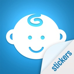 Baby sticker - Free stickers for baby photos