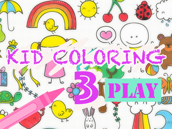 Kid Coloring 3 - Painting for kids free game | App Price Drops