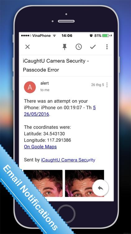 iCaughtU Pro: Big Brother Camera Security screenshot-3