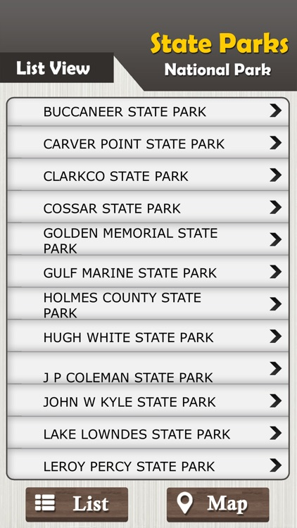 Mississippi State Parks & National Park Guide screenshot-2