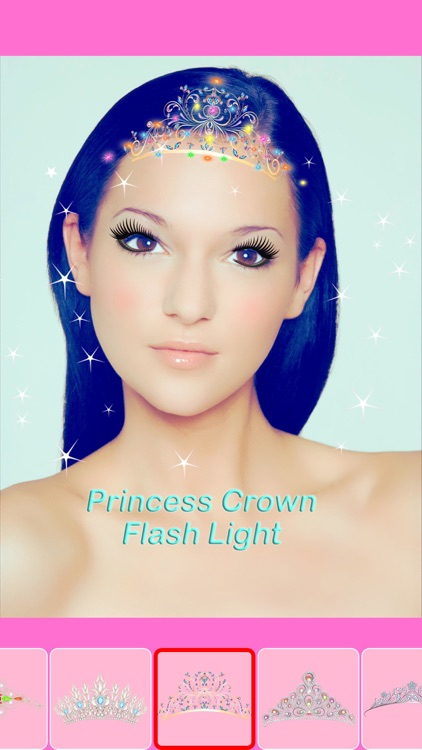 Beauty Princess Selfie Camera - REAL TIME Face Makeup