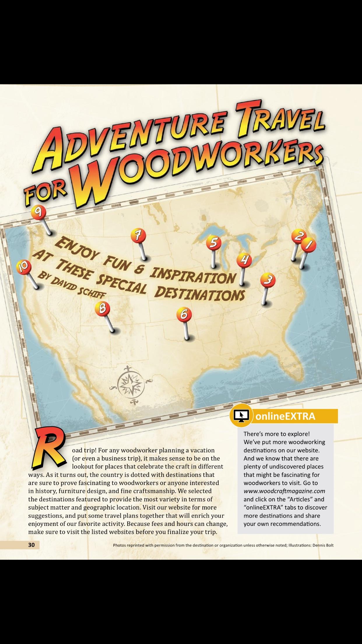 Woodcraft Magazine Screenshot