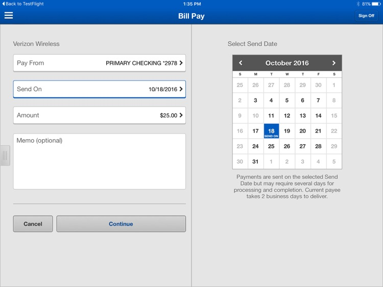 Monona Bank Business for iPad screenshot-2