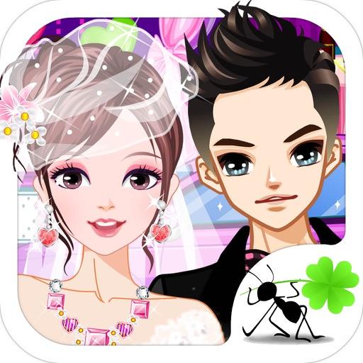 女生装扮小游戏大全_王子和公主婚纱礼服 - 女生化妆打扮小游戏大全免费   Apps   148Apps