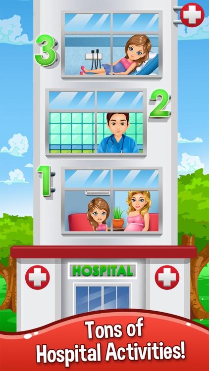 Baby Doctor Salon Spa Makeover Kid Games Free screenshot-4