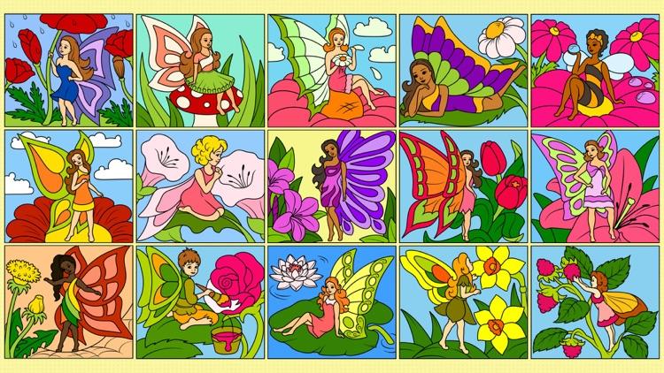 Fairies Coloring Book +