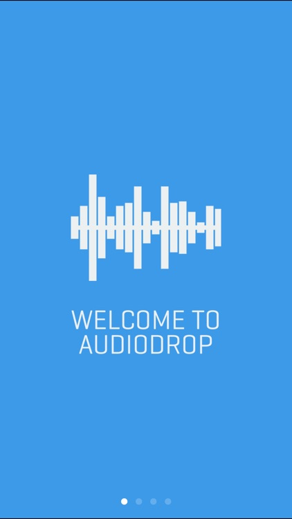 AudioDrop – Audio recorder
