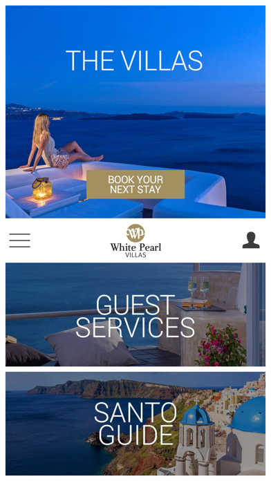White Pearl Villas, Santorini screenshot one