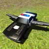 Flying Police Car Driving Simulator Free: Criminal Craft Chase